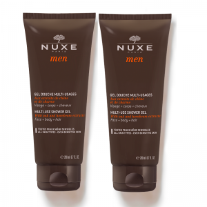 NUXE MEN Wielof.Żel p/prysz.200ml DUO PACK