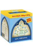 Len mielony DUO PACK 200g + 200g 400 g